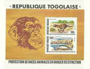 Timbres-Animaux-Togo-BF107-lot-14494