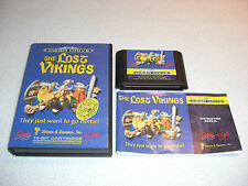 Lost Vikings Mega Drive Spiel komplett mit OVP und Anleitung