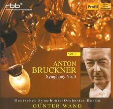 BRUCKNER: SYMPHONY NO. 5 (NEW CD)