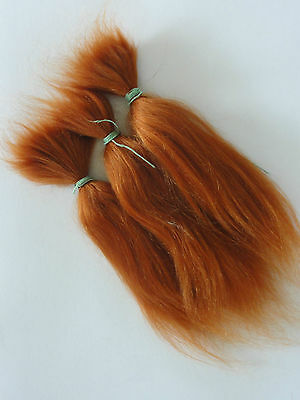 carrot REBORN Doll making supplies 30g Long MOHAIR for rooting + 1ounce