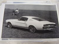 1967 Ford Mustang Fastback 11 X 17 Photo / Picture