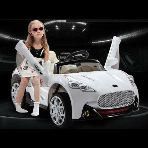Kids Riding Toy Car 12V Battery Power Parental Remote Control R//C Grip Wheels
