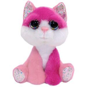 Lil//Li/'l Peepers Medium 20cm Alexis Cat Cuddly//Teddy Soft Toy by Russ Berrie