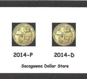 2020 NATIVE AMERICAN DOLLAR P+D 2-COIN SET BRILLIANT UNCIRCULATED SACAGAWEA