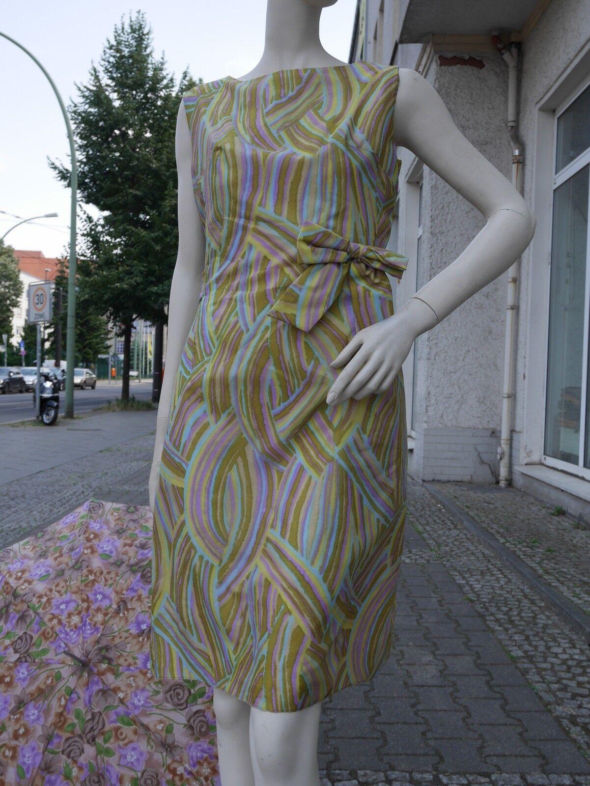 Ciro Kleid Shift Sommerkleid 60er MOD Minikleid Diolen TRUE VINTAGE dress 60s
