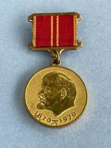 Original Russian USSR 100th ANNIVERSARY OF LENIN Medal, Badge, Award