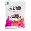 100g De Bron lifestyle Candy Gum Drops Himbeer Low Carb kalorienarm zuckerfrei