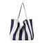 miniature 14 - Women-Large-Canvas-Shopping-Bag-Fashion-Striped-Cloth-Reusable-Tote-Bag