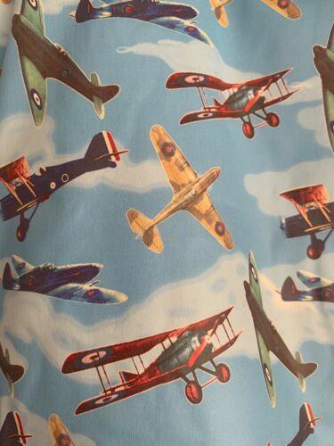 Vintage Avion Design Showerproof Garçon Powell Craft Imperméable Âge 4-5 ans