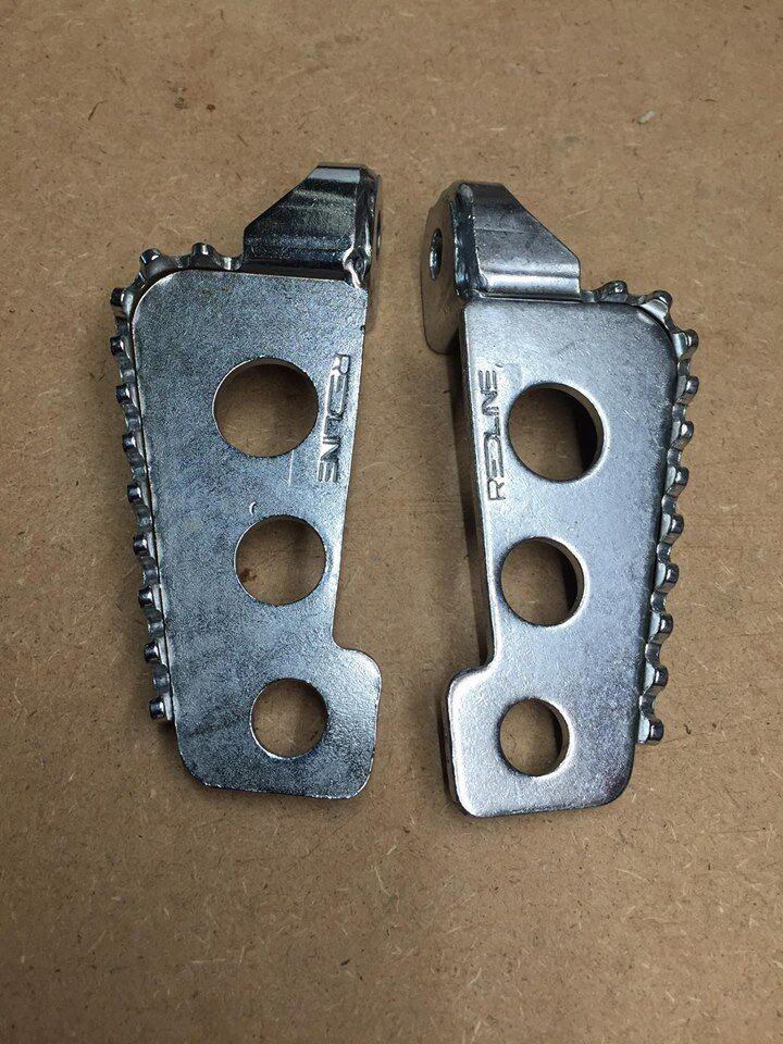 Nos Nos Bmx rossoline frame standers off of a 86' rossoline rl 20 a styler peg rear