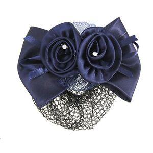 Blumen-Bogen-Haar-Klipp-Schmetterling-Haarspange-fuer-Damen-Blau-GY