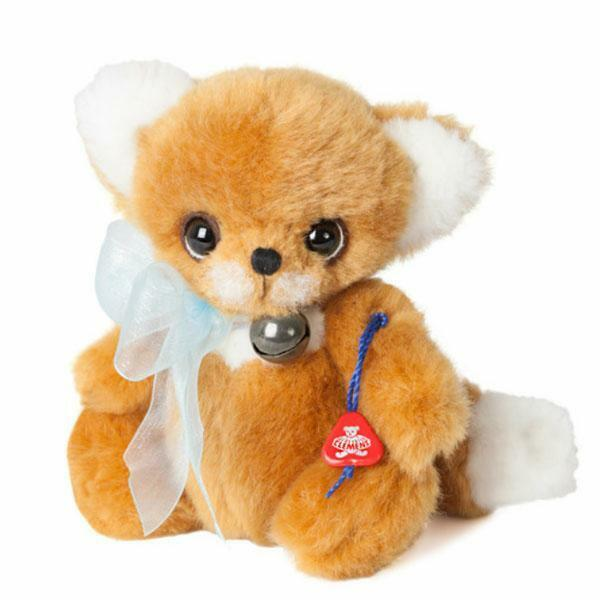 Fox Darcy, a 5.2  Plush Fox by Clemens Bears