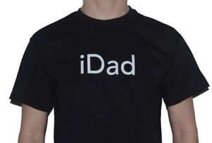 iDad-T-Shirt-Mens-Great-Fathers-Day-Gift-Present-iPhone-user-Inspired-Tee