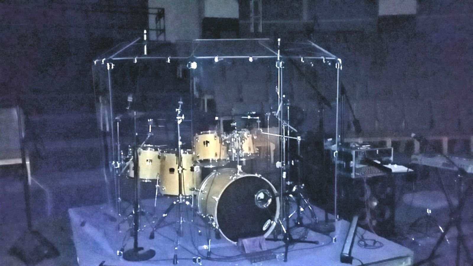 Drum Shield, Drum Shields, Drum Sceen   6 ft x 12 ft DS6D