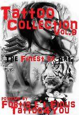 Tattoovorlagen 4000 Seiten motive Flashbook Cd  Dvd Top NEU Flash Buch  + bonus