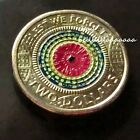 2017 $2 Anzac UNC Coin $2 Lest we forget. POPPY Edition - Coin ART - Enamelled