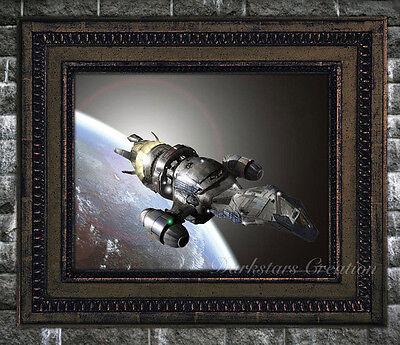 Serenity Firefly - Luster Finish Original Art Print - Darkstars Creation Realism