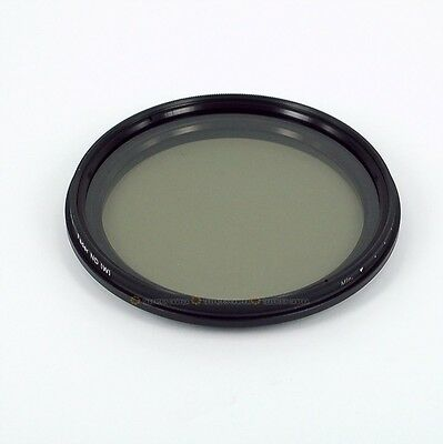 Slim 52 mm 52mm Fader ND Lens Filter adjustable ND2 ND4 ND8 ND10 to ND400