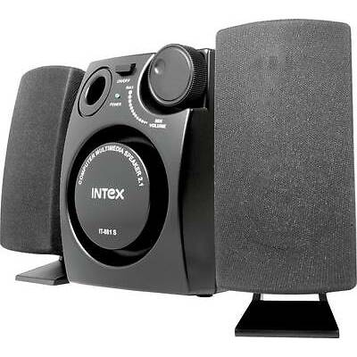 Intex 881S 2.1 Channel Multimedia Stereo Speaker