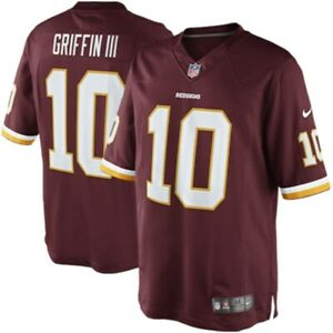 Details about Robert Griffin III Washington Redskins ( RG3 ) On Field Replica Jersey, Large
