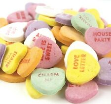 NECCO Large Conversation Hearts Valentine Candy 5 pounds