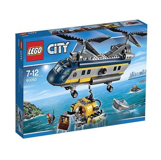 LEGO City 60093 Deep  Sea Helicopter  beaucoup de surprises
