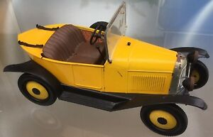 voiture tole citroen 5hp torpedo france jouets jouet ancien 32 cm ebay. Black Bedroom Furniture Sets. Home Design Ideas