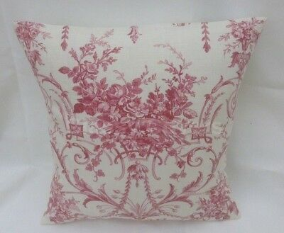 Laura Ashley Designer Cushion Cover HIGHLAND CHECK CRANBERRY RED Various Sizes