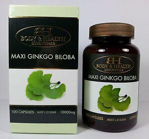Body-amp-Health-Maxi-Ginkgo-Biloba-10000mg-100-Capsules-Gingko-Biloba