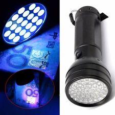 Ultra 51 LED UV Flashlight Torch Quality Aluminium Violet Blacklight Detection