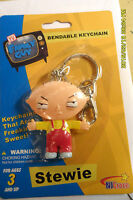 Stewie Bendable Keychain Free 1st Class Mail 24 Hr Ship + Tracking Rare