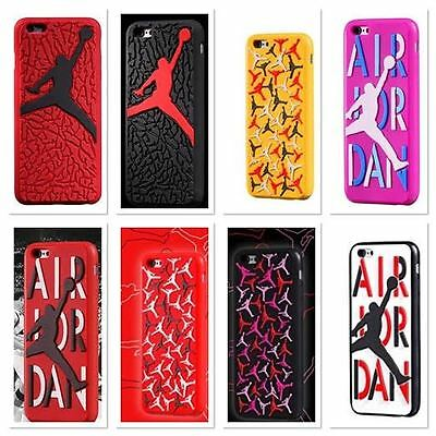 NEW Air Jordan Soft Silicon Sole Case For Apple iPhone 6/6S
