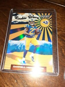 2019-Playoff-Rookie-Wave-22-Darrell-Henderson-LOS-ANGELES-RAMS-Refractor