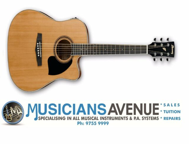 Ibanez PF17ECE Acoustic Electric Guitar - Cedar Top