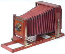 5x7 Field View Camera with Red Bellows & Kodak Lens - Very beautiful antique!
