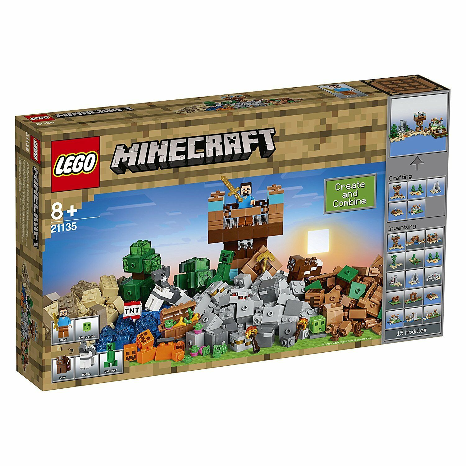 Lego Minecraft Crafting Box 2.0, 21135  NUOVO