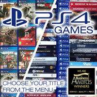 LIKE NEW! • Playstation 4 (PS4) - Video Games • Choose Your Title from the Menu