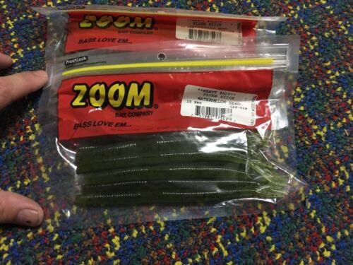 ZOOM Fluke Stick 2 PCKS Watermelon Seed Dinger Senko 10 cnt