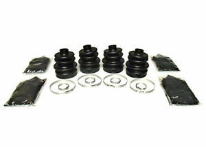 Set of Front Axle CV Boot Kits for Arctic Cat 1998-2008 400 4x4 ATV