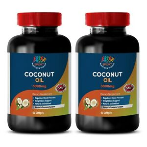Body Detox Unrefined Energy Booster Coconut Oil 3000 2b 120ct Let Our Commodities Go To The World