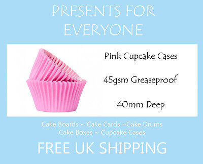 Muffin Cases 50 x Baby Blue Cupcake