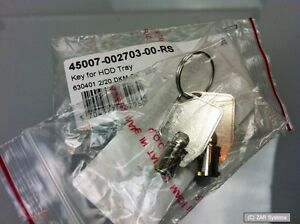 QNAP Schlüssel für Einbaurahmen (Key for HDD Tray) 45007-002703-00-RS, 2 Stück