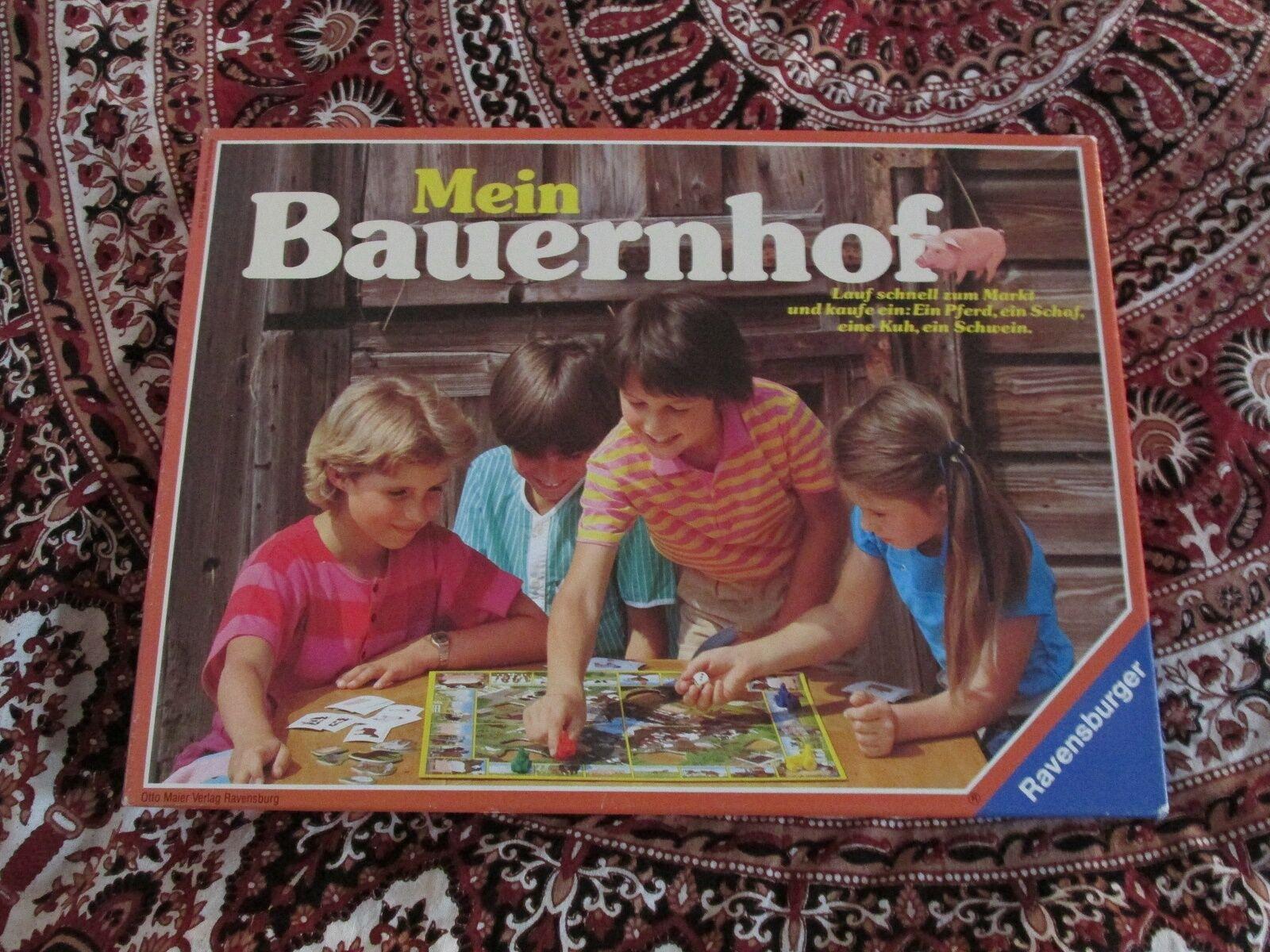 MEIN BAUERNHOF VON RAVENSBURGER KOMPLETT