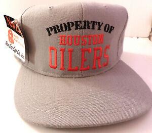 Property-of-Houston-Oilers-1980s-New-Era-Cap-Unworn-NOS-Licensed