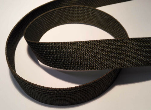 1,29 euros por M 1 metros de cinturón ykk banda verde oliva 30mm 888