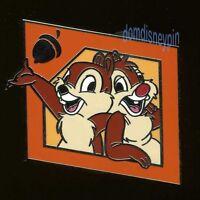 Disney Pin Character Icon *PWP* Promo Starter Set (2013) - Chip & Dale & Acorn!