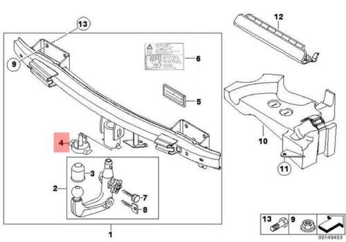 Genuine BMW E70 E70N E81 E82 E84 Sealing Blind Plug D=18MM OEM 71606765338