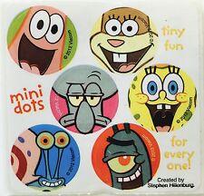 60 Spongebob Squarepants Dot Stickers Party Favors Teacher Supply Patrick