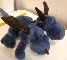 NICI Two Heads Ice Dragon Stuffed Plush Toy, Baby Kids Toy Gift