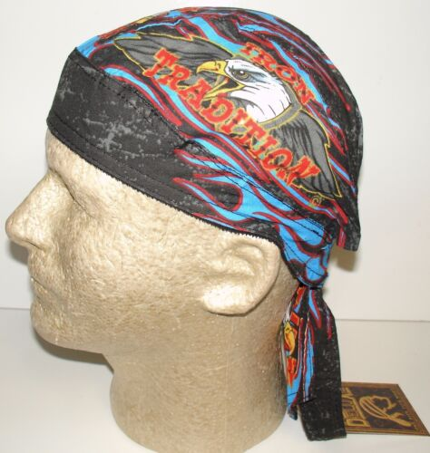 Iron Tradition Eagle Headwrap Bandanna Sweatband Durag Capsmith Free Shipping